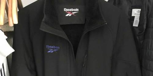 Reebok Men's Fur Lined Zip Jacket Only $22