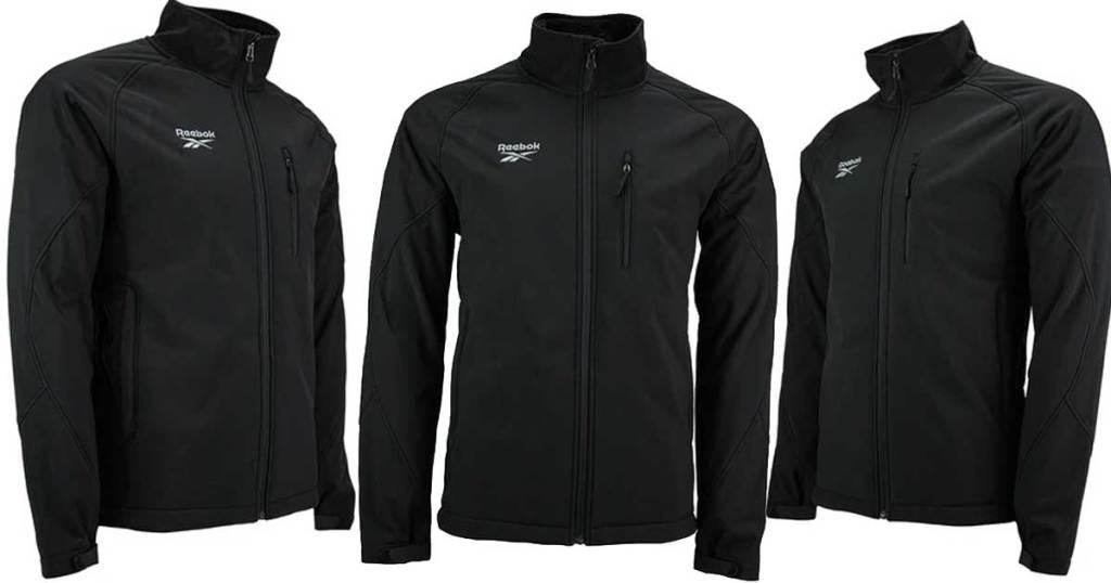 3 views of reebok jacket
