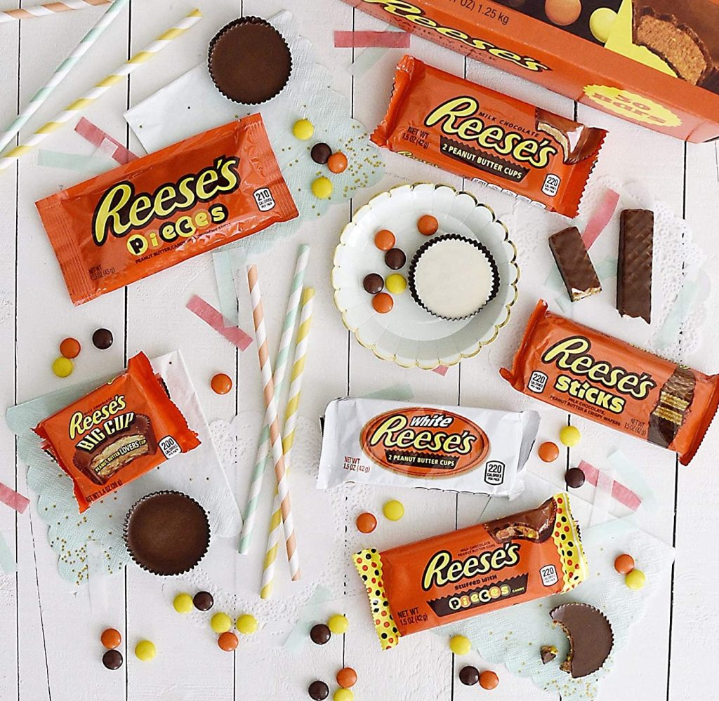 reeses candy bars variety