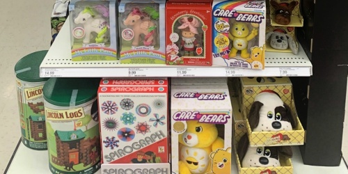 Retro Toys & Games at Target + Save 25% Off w/ Circle Offer | Care Bears, Pac-Man & More