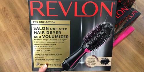 Revlon Hair Dryer & Volumizer Styling Brush Only $31.88 Shipped on Amazon (Regularly $60)