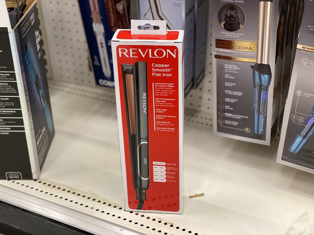 revlon straightener in store