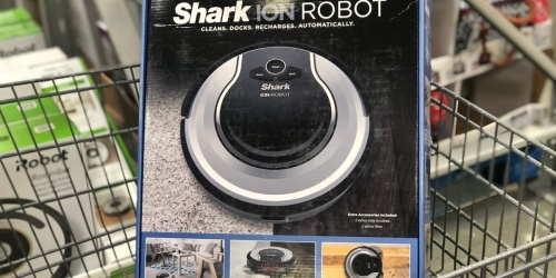 50% Off Shark ION Robot Vacuum + Free Shipping on Best Buy | Black Friday Deal