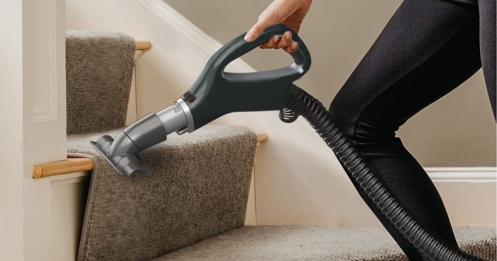shark vacuum hose cleaning stairs