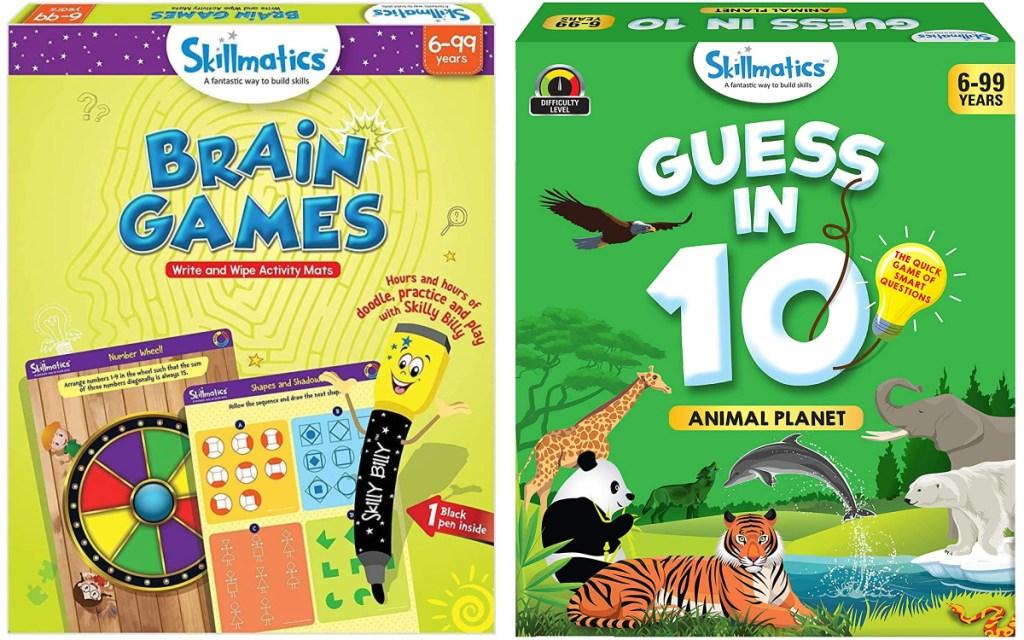 skillmatics games two board games