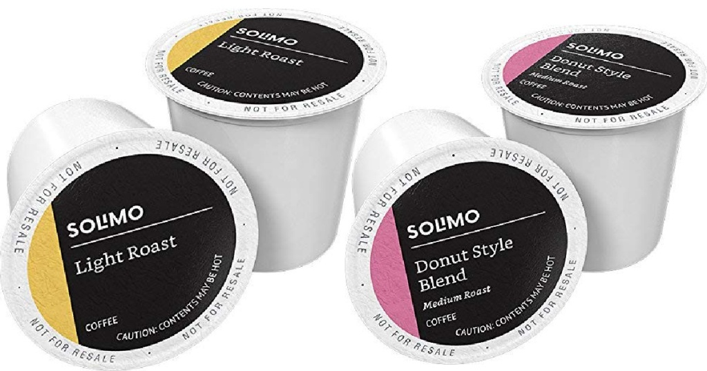 solimo k cups breakfast and donut blend