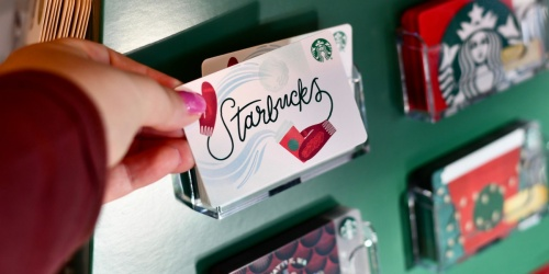 Here's How You Can Save 5% on Gift Cards ALL the Time | Disney, Starbucks, Olive Garden & More