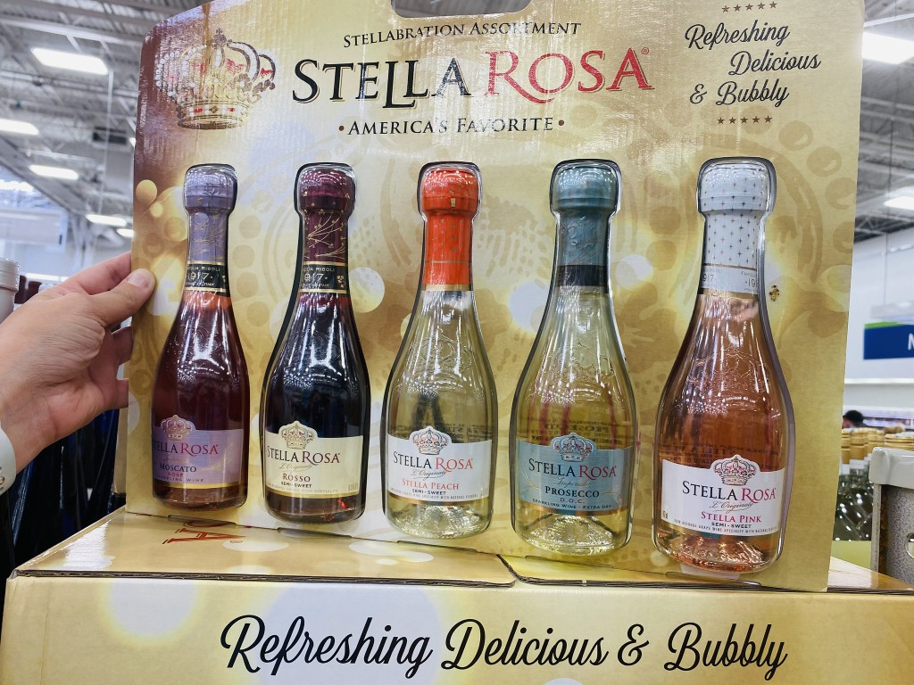 stella rosa gift pack in store at sams club