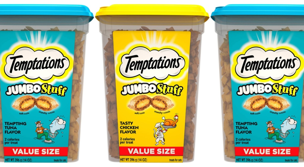 temptations chicken flavor and tun a flavor