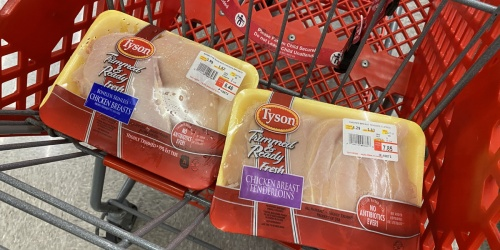 RARE 50% Off Fresh Tyson Chicken at Target | Just Use Your Phone
