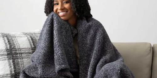 Koolaburra by UGG Alexa Throw Just $39.99 at Kohl's (Regularly $54) | Great Reviews