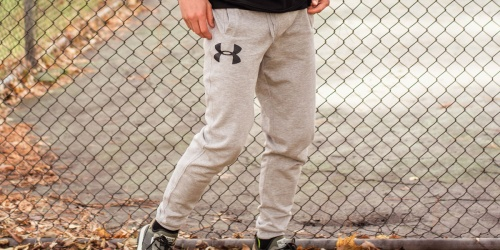Under Armour Men's Fleece Joggers Only $24.99 Shipped (Regularly $60)