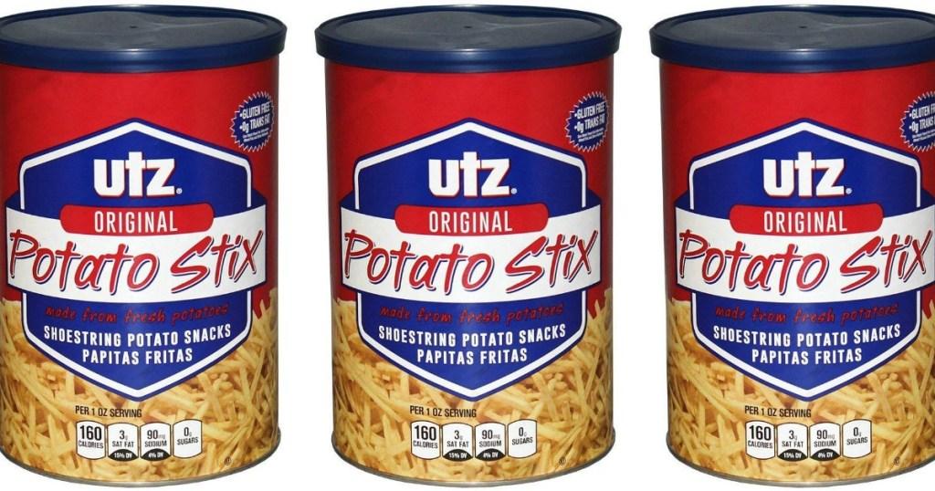 utz potato stix canisters