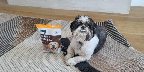 Up to 45% Off Wag Dog Food & Treats + Free Shipping on Amazon