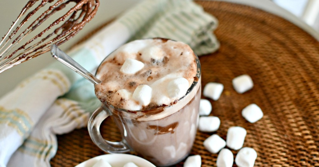 whipped hot chocolate