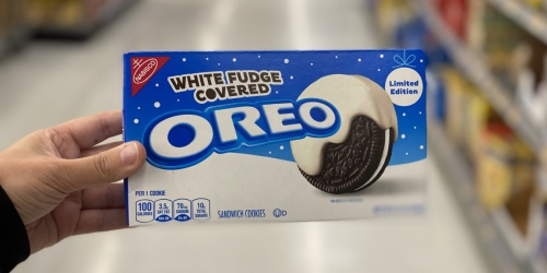 White Fudge Covered Oreos Are Back & Around $3 at Walmart