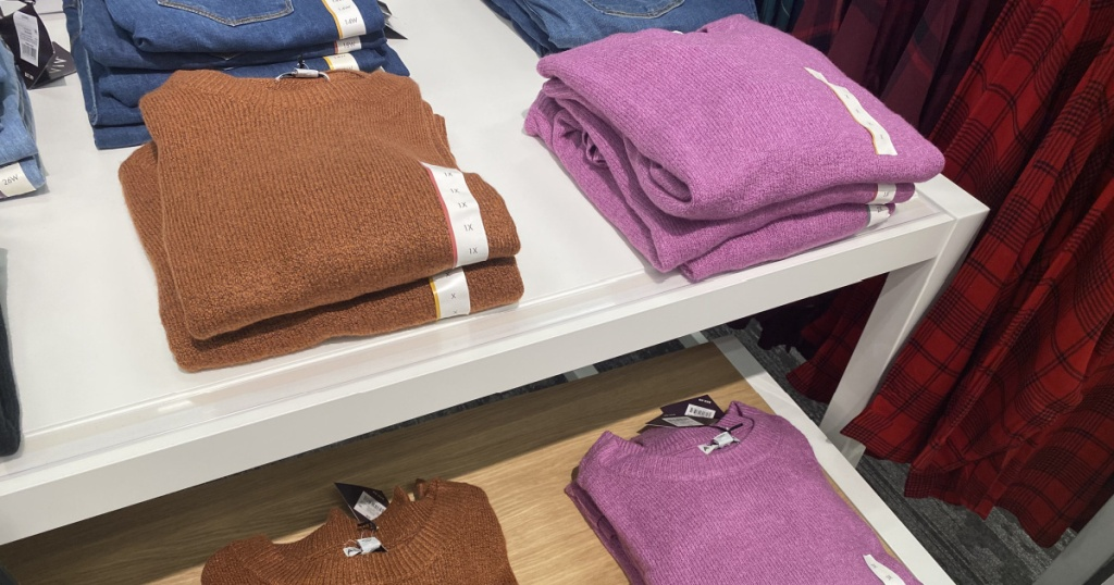 wild fable sweaters at target in store