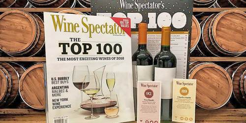Complimentary 15-Issue Wine Spectator Magazine Subscription | No Credit Card Needed