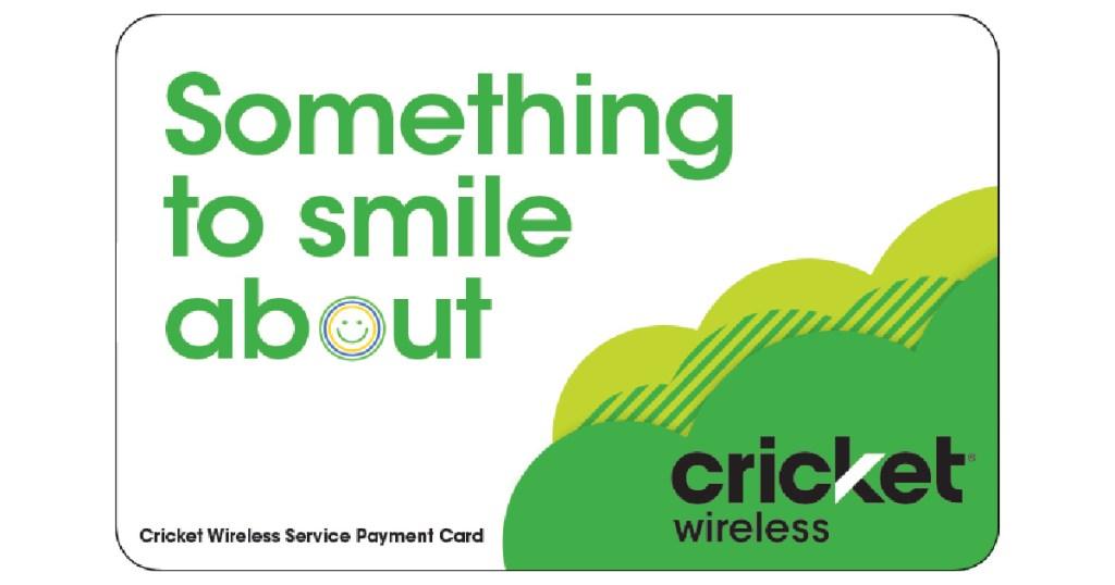 cricket wireless phone card