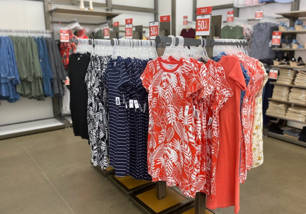 womens dresses old navy in store