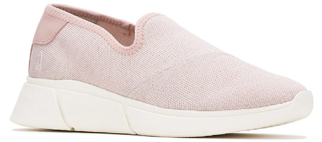 pink shoe on white background