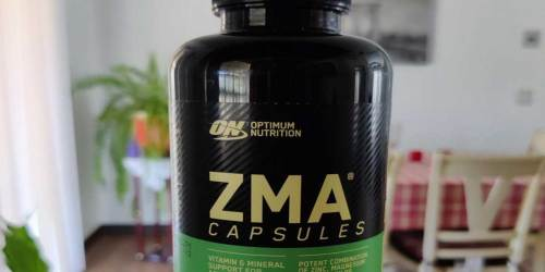 Optimum Nutrition ZMA Capsules 180-Count Just $10 Shipped on Amazon | Zinc, Magnesium & B6