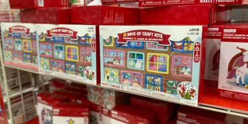 12 Days of Crafts Advent Calendars Just $10 Each at Michaels (Regularly $20) | Includes 15-Minute Projects
