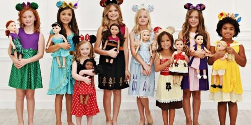 Disney Inspired 18″ Doll Dresses Just $12.99 Shipped (Regularly $20) | Choose from 11 Styles