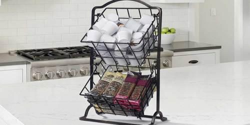 Mikasa 2-Tier Hanging Basket Set Just $17.56 Shipped on Amazon (Regularly $30)