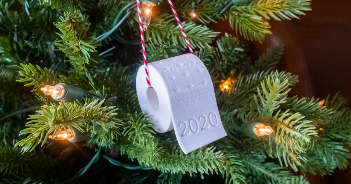 2020 toilet paper Christmas ornament