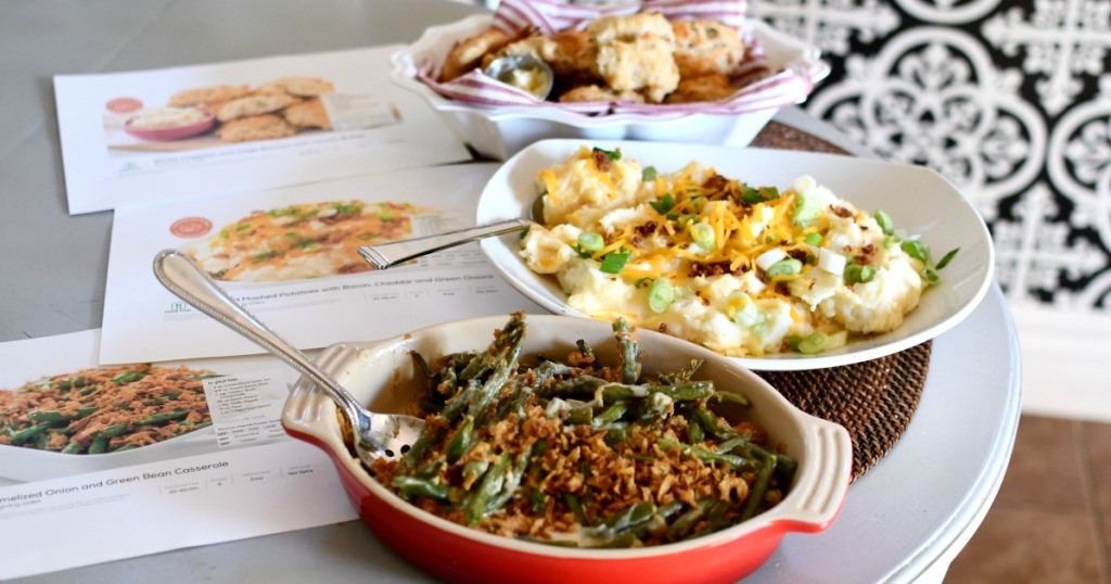 3 home chef thanksgiving side dishes