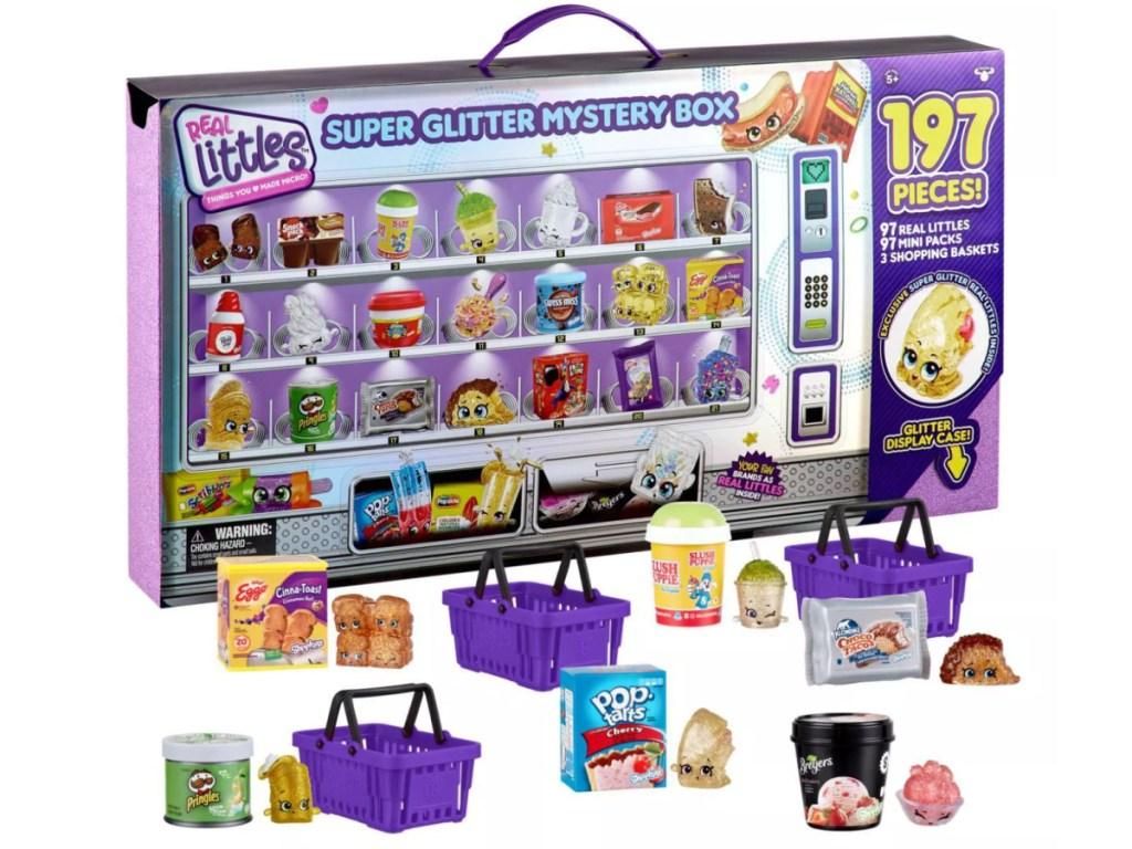Shopkins Real Littles Super Glitter Mystery Box