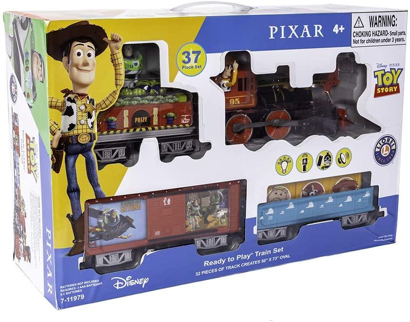 Disney Pixa Lionel Electric Toy Story Train Set