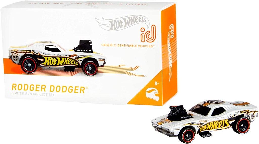 hot wheels id rodger dodger car