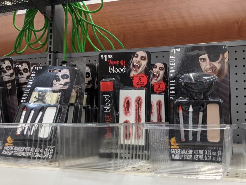 Halloween Makeup at Walmart