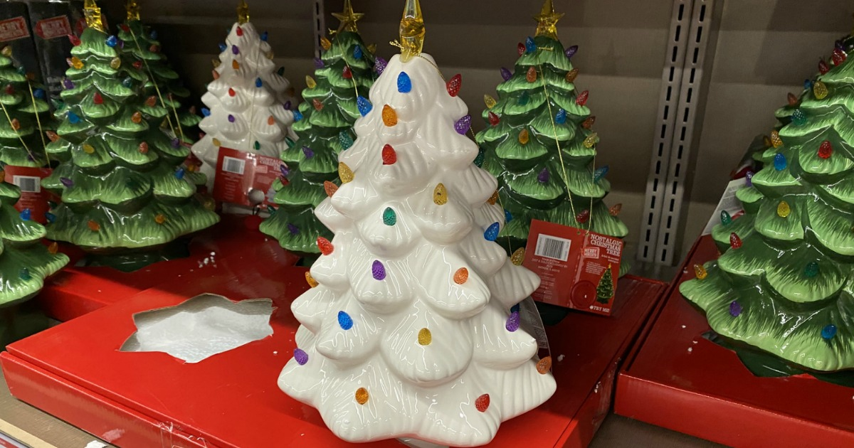 ALDI Christmas Ceramic Tree