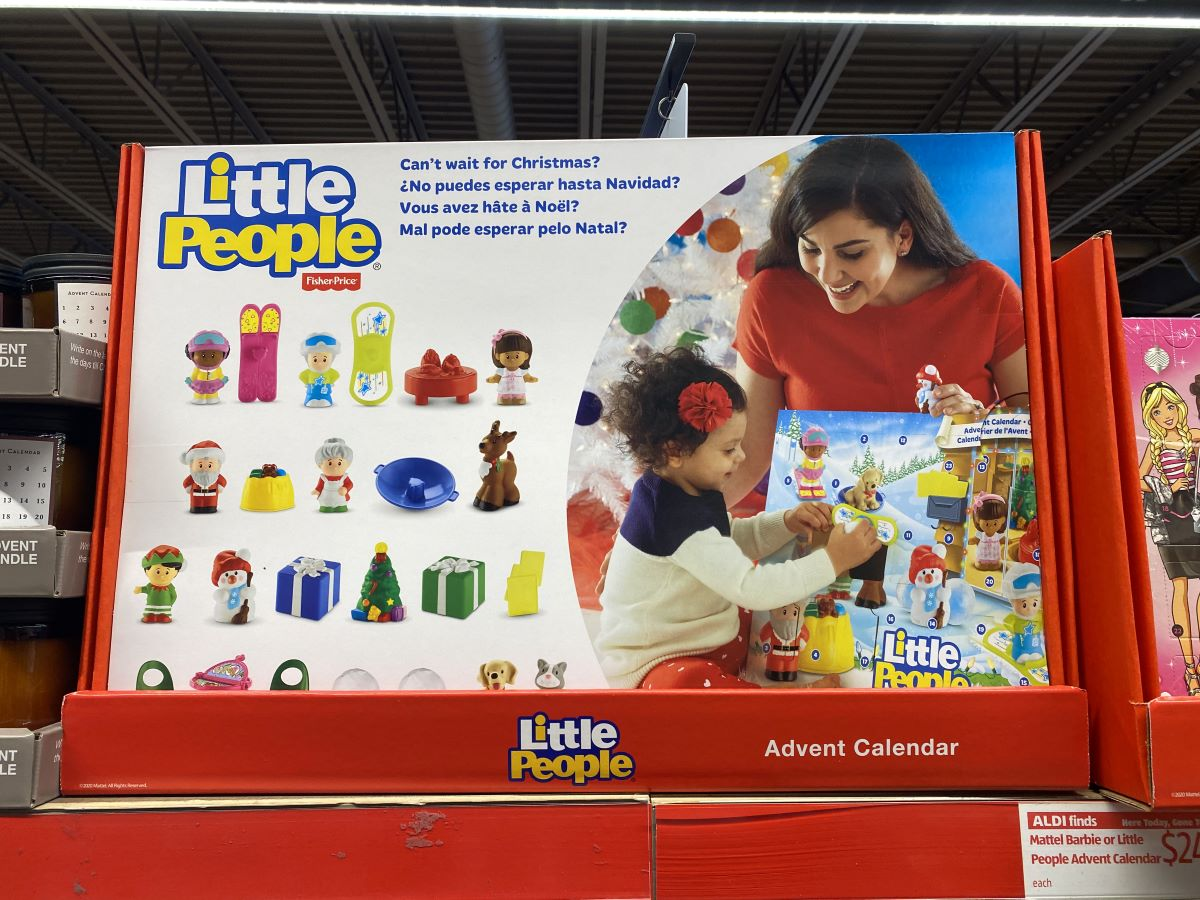 Little People ALDI Advent Calendar at ALDI