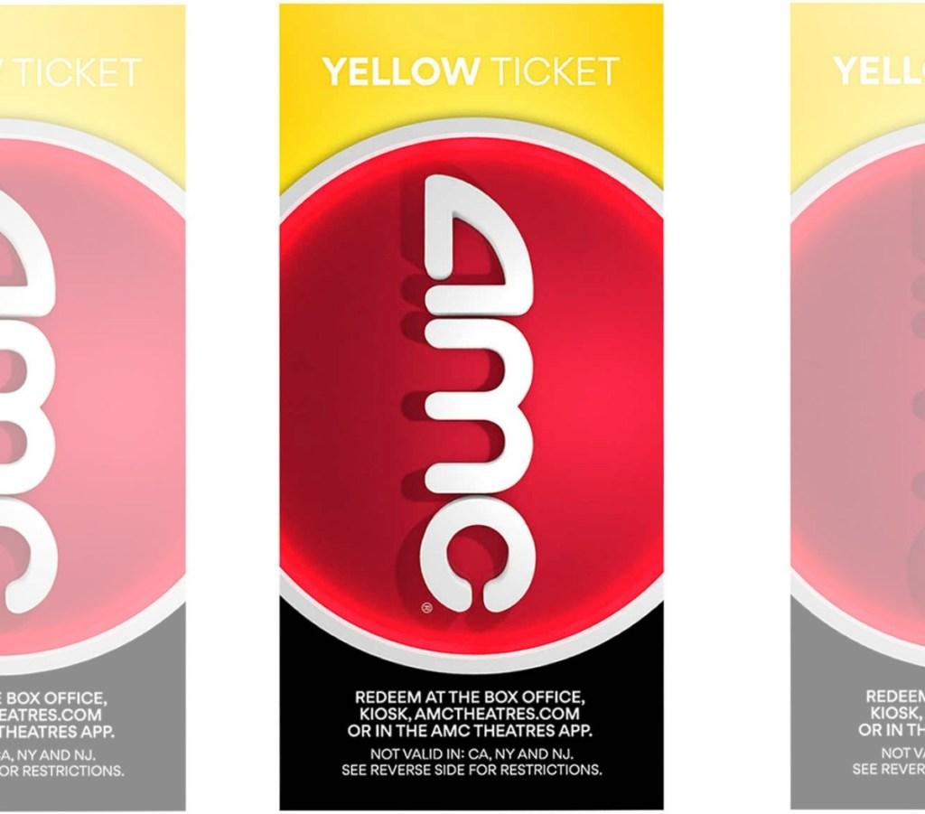 AMC Yellow Ticket