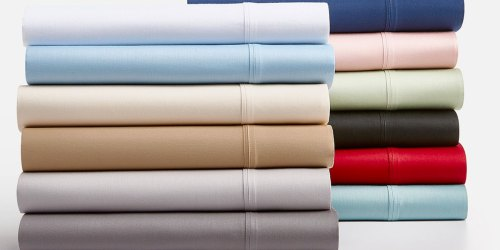 1,250-Thread Count 4-Piece Sheet Sets in ANY Size Only $29.99 Shipped on Macys.com (Regularly up to $210)