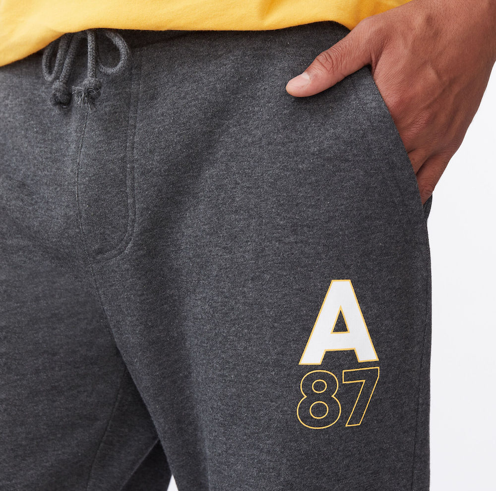man wearing Aero Jogger Pants
