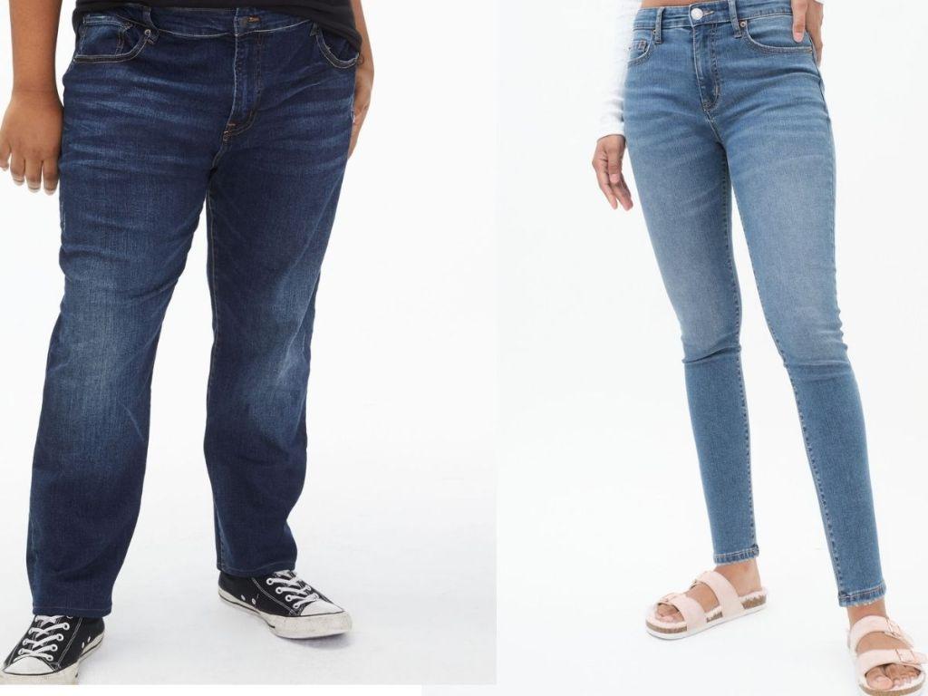Jeans denim untuk anak perempuan dan laki-laki Aeropostale