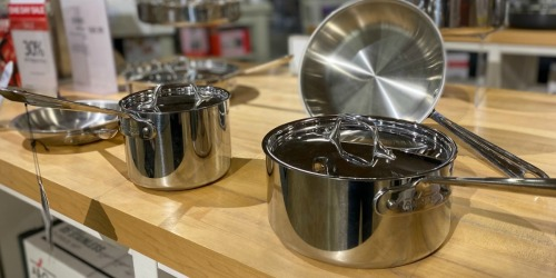 All-Clad Stainless Steel 7-Piece Cookware Set Only $217 Shipped on Macys.com (Regularly $840)