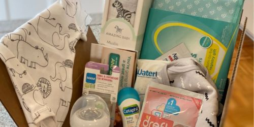 Expecting? Request a FREE Amazon Baby Welcome Box ($35 Value)
