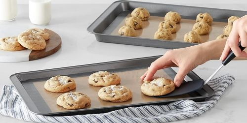 Silicone Baking Mat 3-Pack Only $8.69 on Amazon (Regularly $15) | Great for Holiday Baking