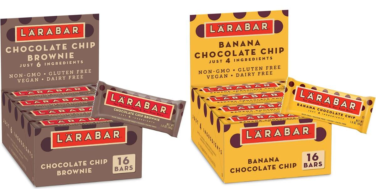 Two large boxes of Larabars