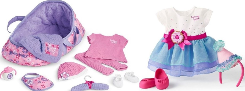 American Girl Bitty Baby carrier set and outfit