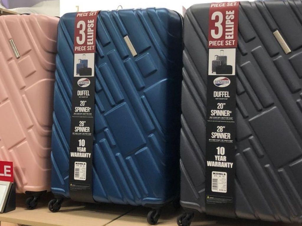 American Forester Hardside Luggage Set