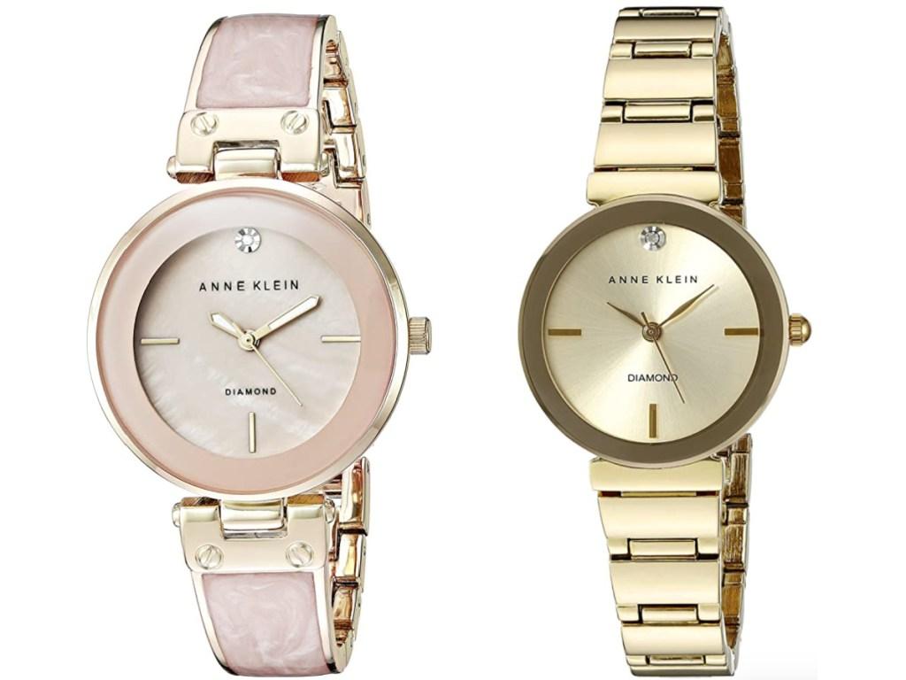 2 anne klein women's watches