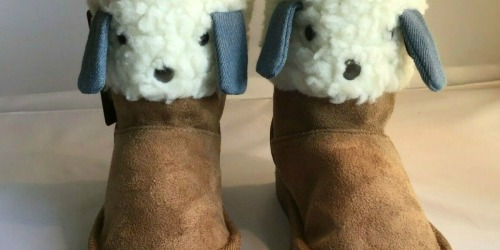 Baby & Kids Faux Shearling Boots Only $7.99 on Zulily.com (Regularly $21+)