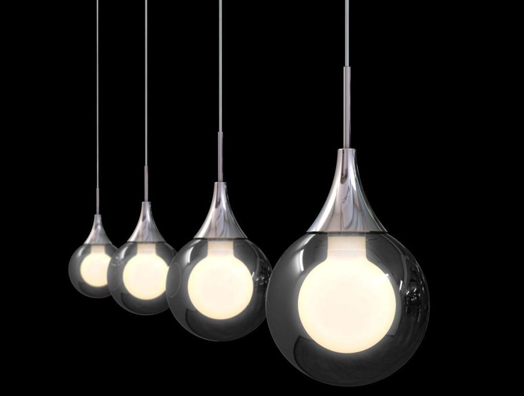 row of lights